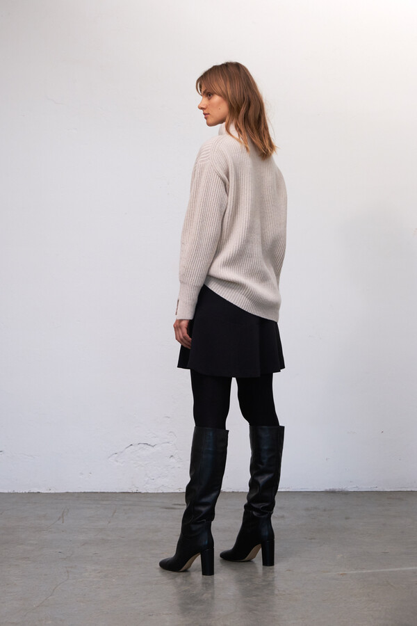 LAMBSWOOL KNIT SHEARLING