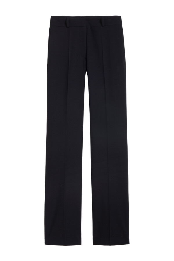 FITTED KAREN PANTS BLACK