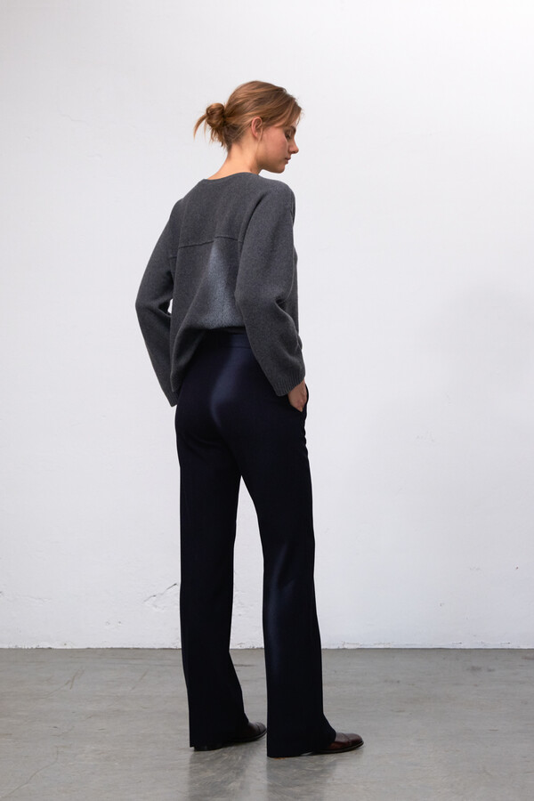FITTED KAREN PANTS MIDNIGHT BLUE
