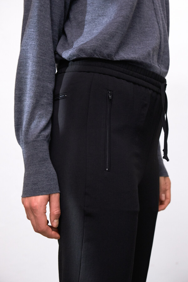 SLIM FIT DREW PANTS BLACK