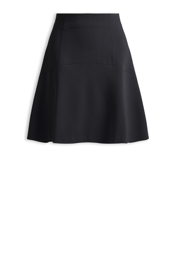 SHORT PAIGE SKIRT BLACK
