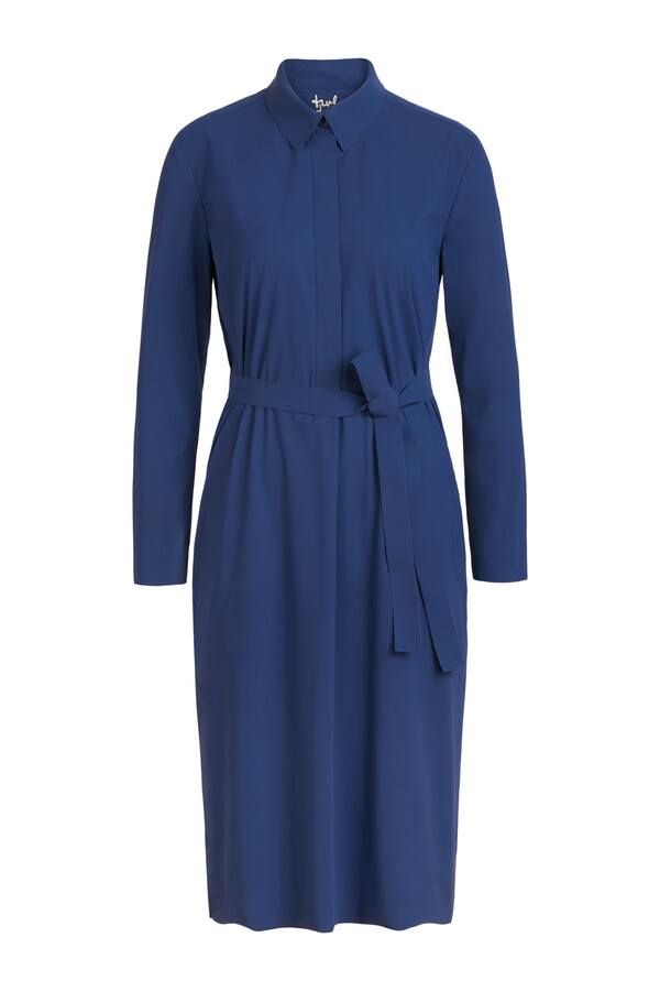 POLO DRESS DEEP BLUE