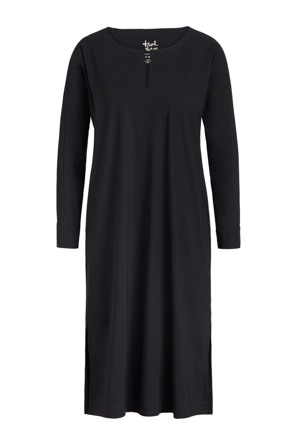 STRAIGHT TUNIC BLACK