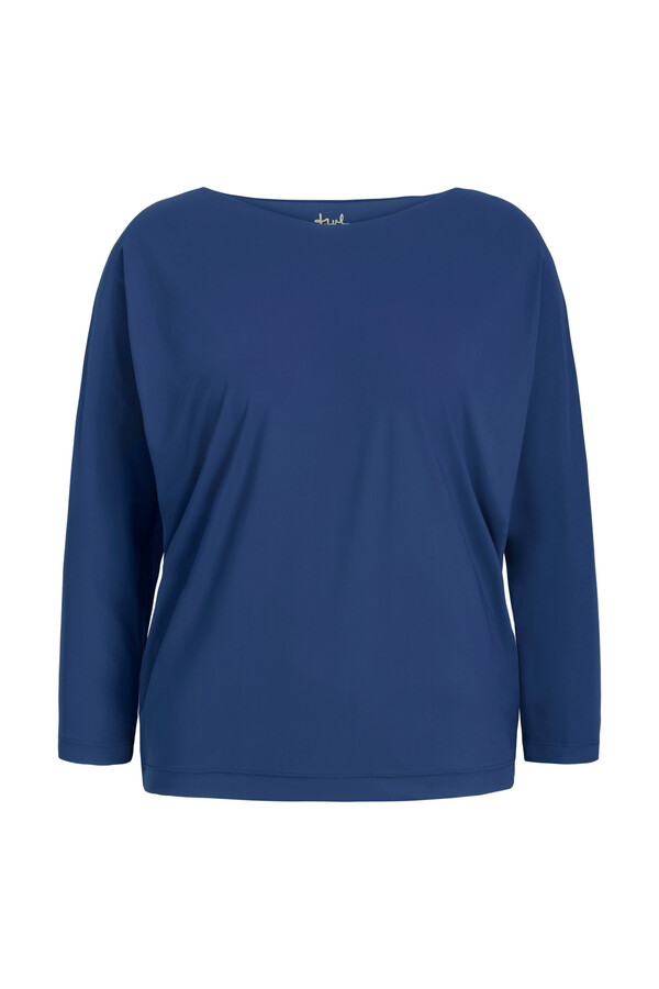 LOOSE TOP DEEP BLUE