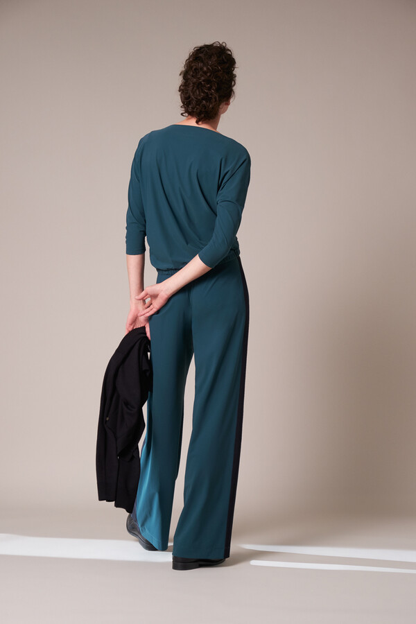 LOOSE TOP DEEP TEAL