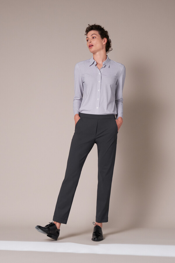 BASIC PANTS STEEL GREY
