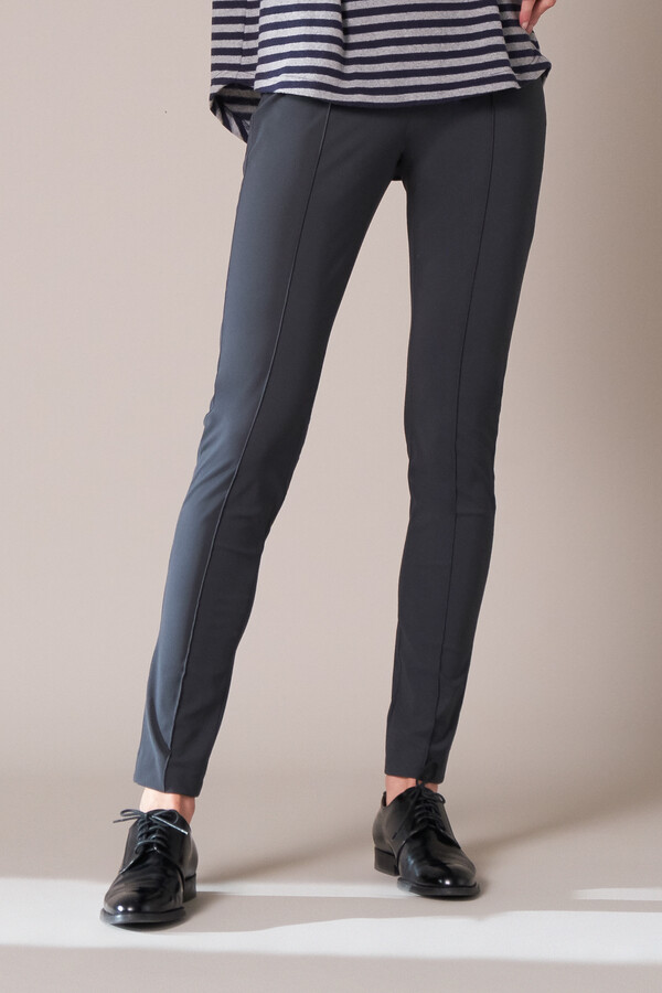 SKINNY PANTS STEEL GREY
