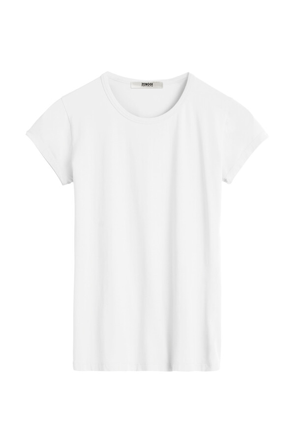 CAP SLEEVE TEE WHITE