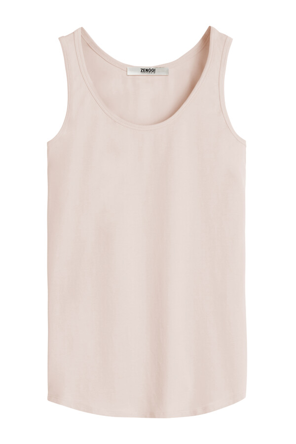 TANK TOP FADED ROSE