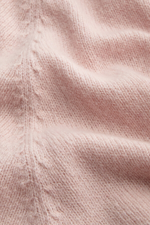ECO CASHMERE SHORT SLEEVE CREW FADED ROSE