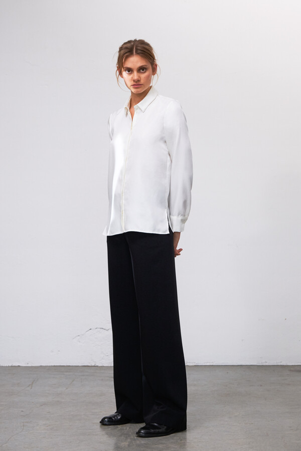 SILKY EDY BLOUSE OFF WHITE