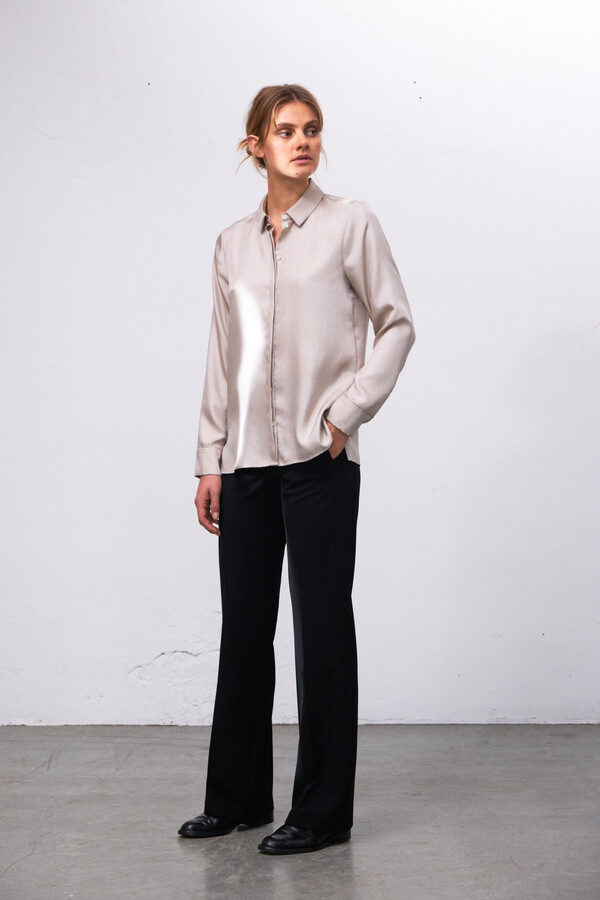 SILKY EDY BLOUSE NEW IVORY