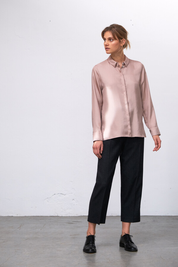 SILKY EDY BLOUSE BLUSH